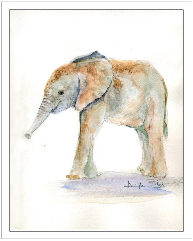Watercolor for June 2013