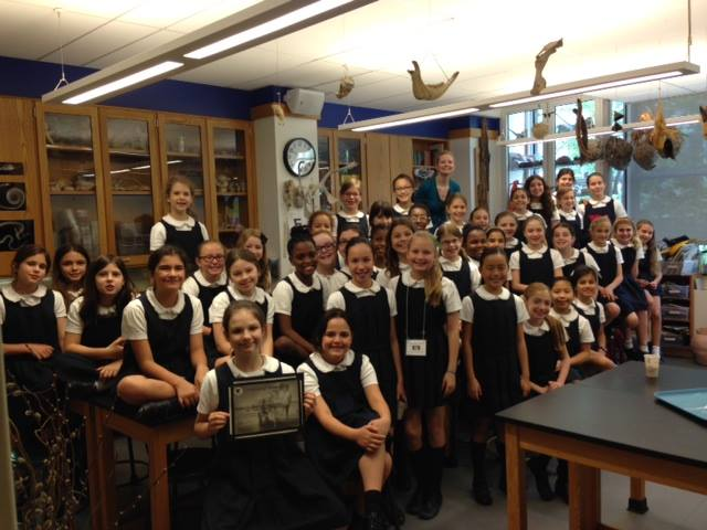 Fourth grade students of the Nightgale Bamford School in NYC earn over $900 for the elephants!