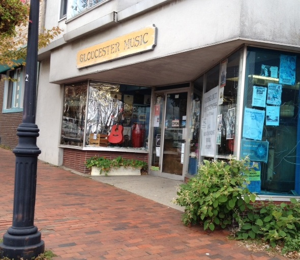 Gloucester Music, the last of its kind on the North Shore, since 1977.