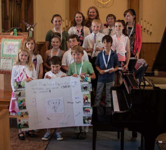 Cape Ann Piano Studio Spring Recital, June, 2015