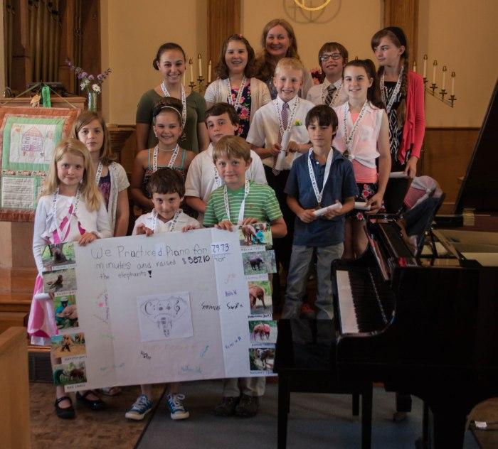 Cape Ann Piano Studio Spring Recital, June, 2015